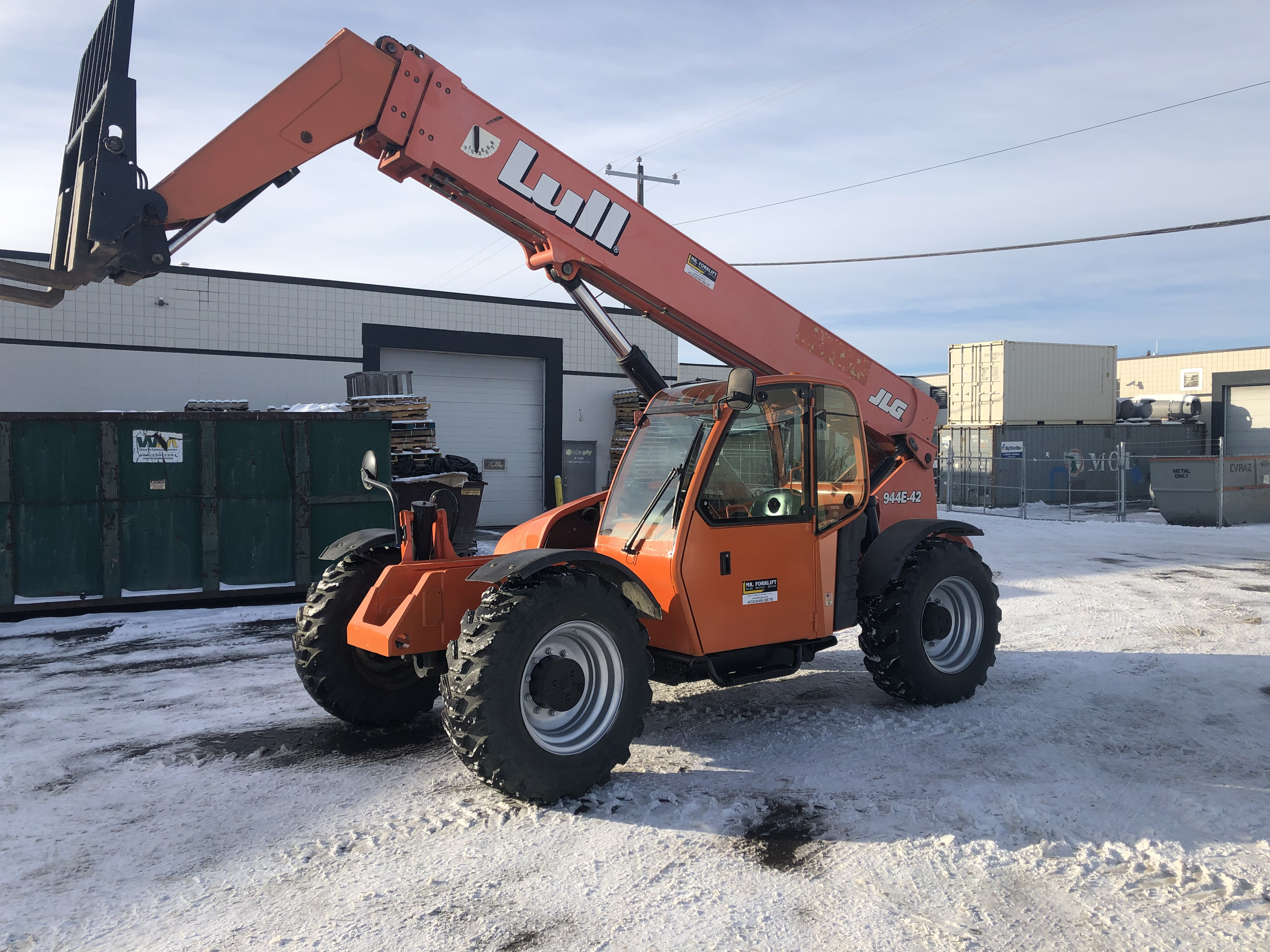 Calgary Forklift Rentals and Sales